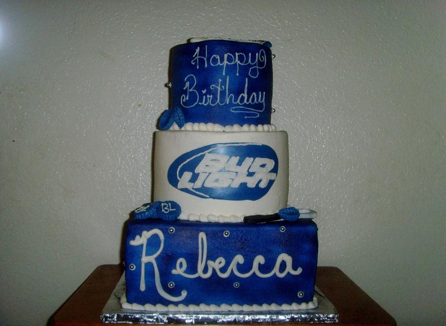 How To Make Budweiser Cake