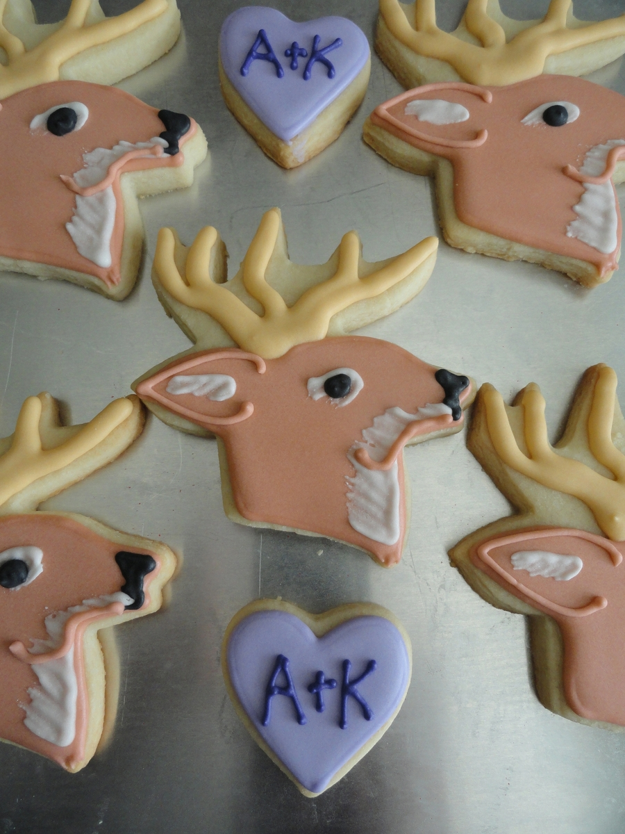 Deer Cookies on Cake Central