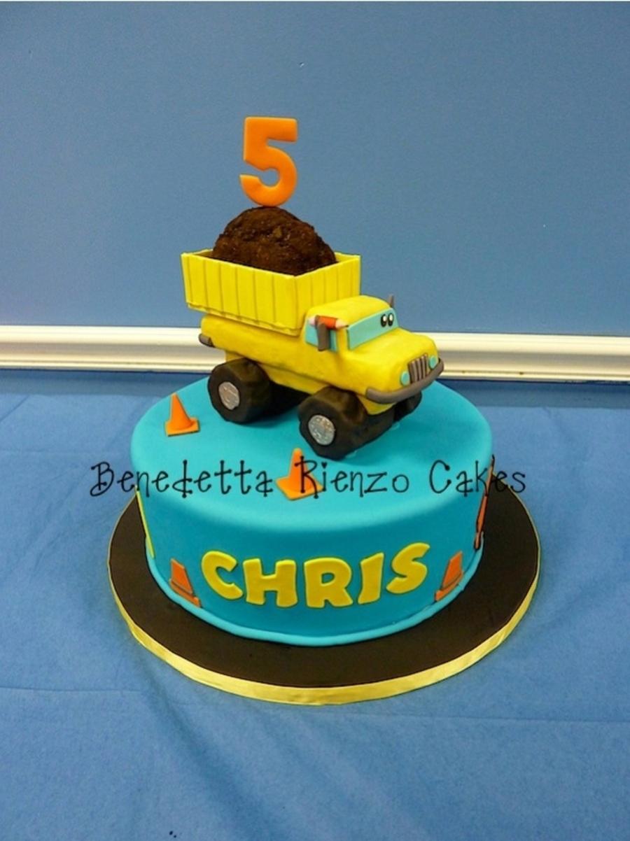 Construction Truck Cake CakeCentralcom