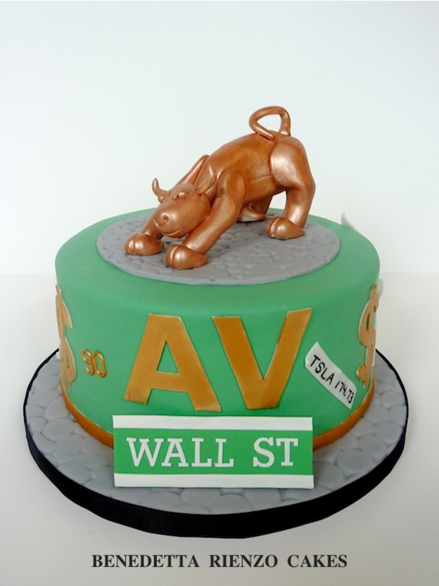 Show Me The Money Bull Market Cake CakeCentralcom