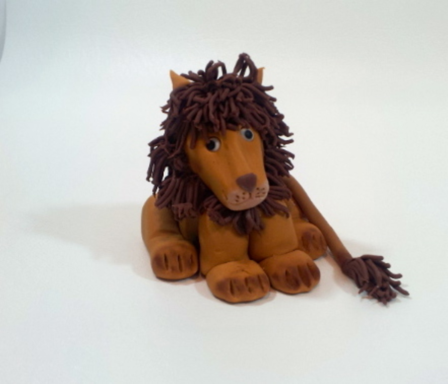Lion Cake Topper on Cake Central