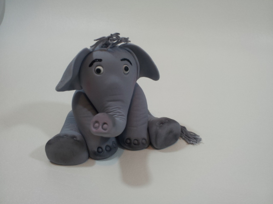 Elephant Cake Topper on Cake Central