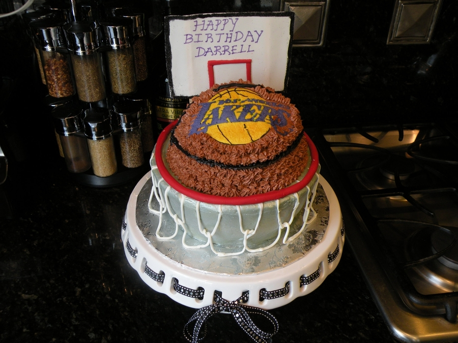Laker Fan Birthday on Cake Central