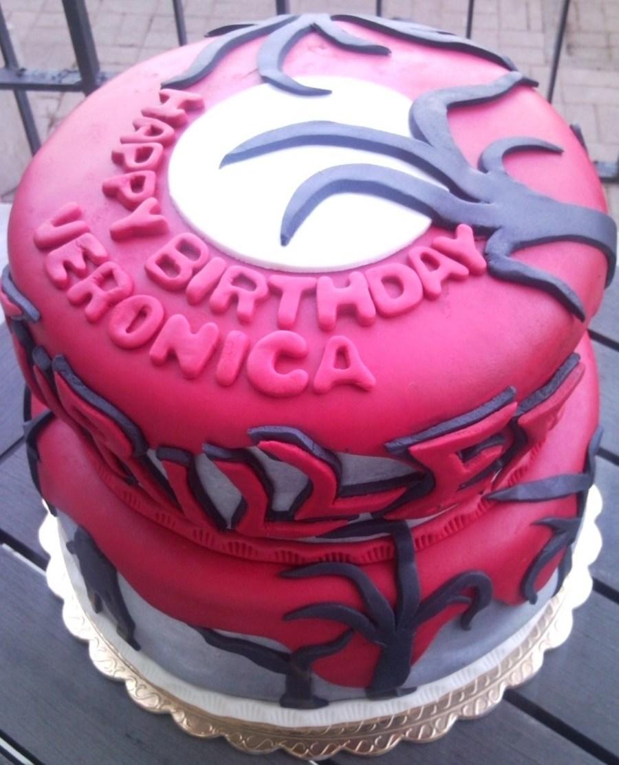 Michael Jackson Thriller Cake