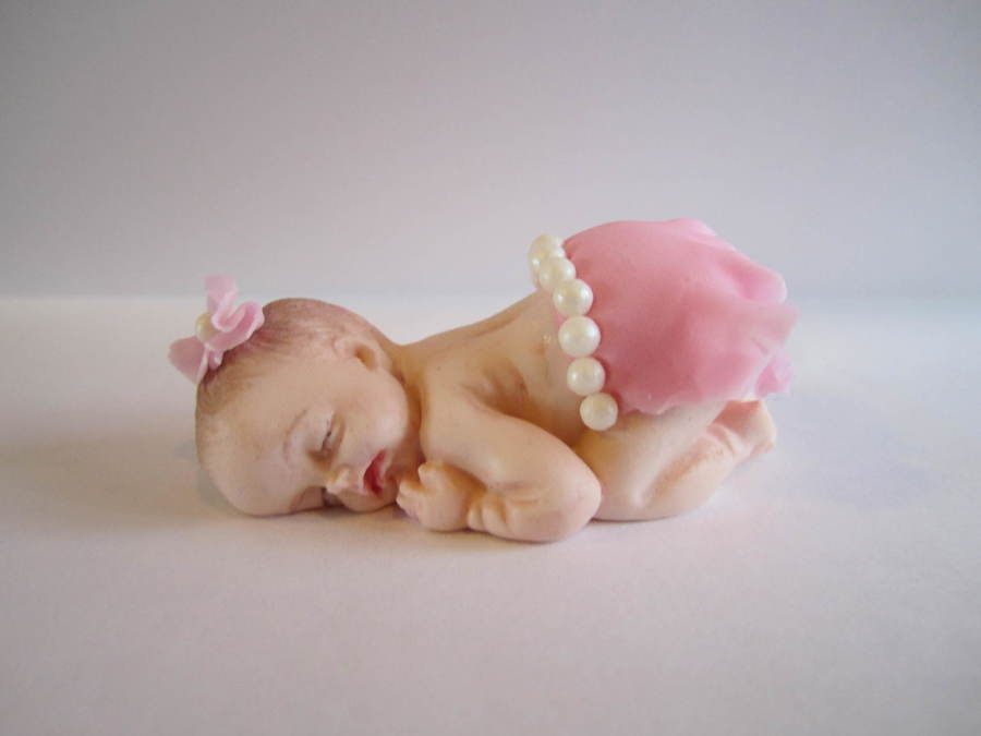 Baby Mould Cake Topper