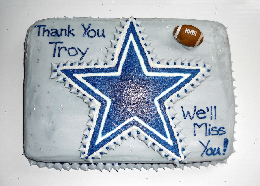Troy's Cowboy Goodbye Cake on Cake Central