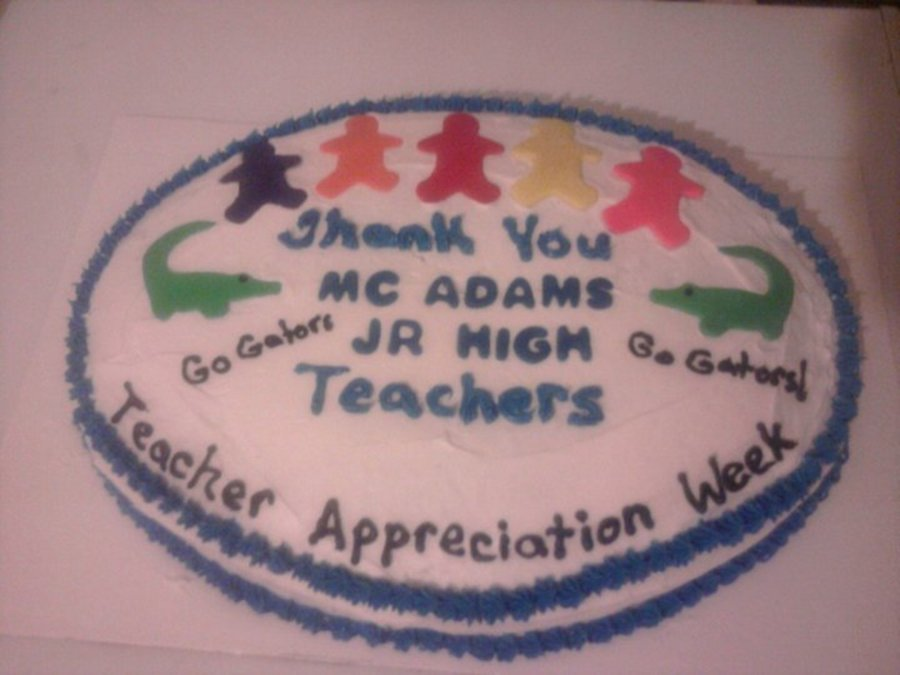 Teacher Appreciation 2  on Cake Central