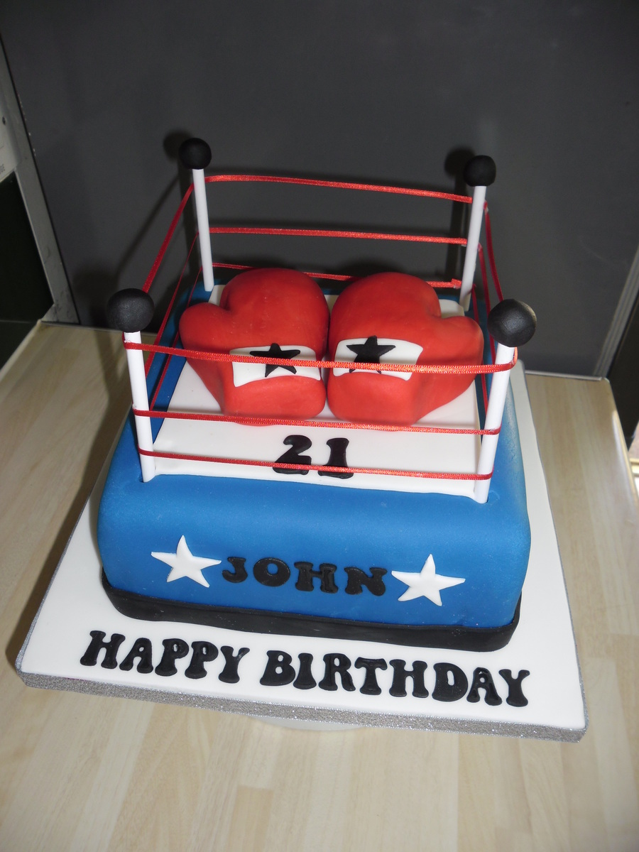 Boxing Cake on Cake Central