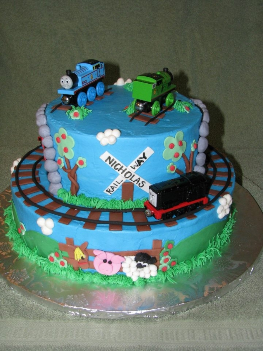 Thomas & Friends Birthday Cake CakeCentral