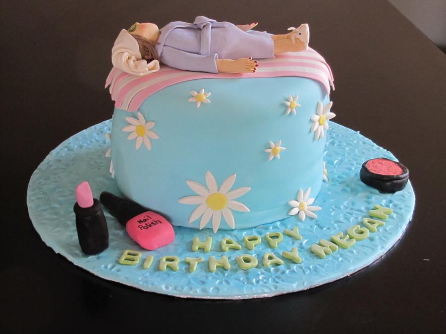 Incredible Spa Birthday Cake Cakecentral Com Funny Birthday Cards Online Necthendildamsfinfo