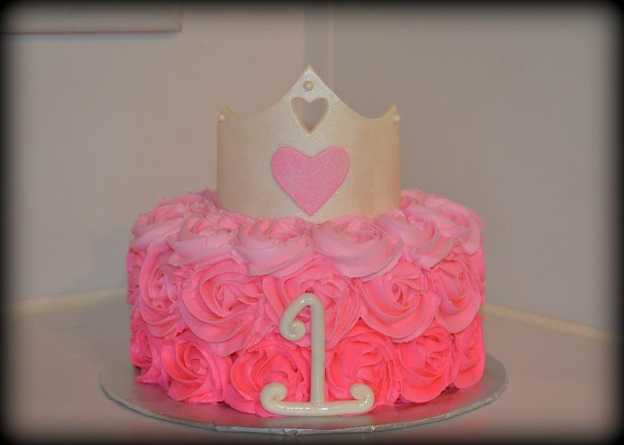 Princess Smash Cake Cakecentral Com
