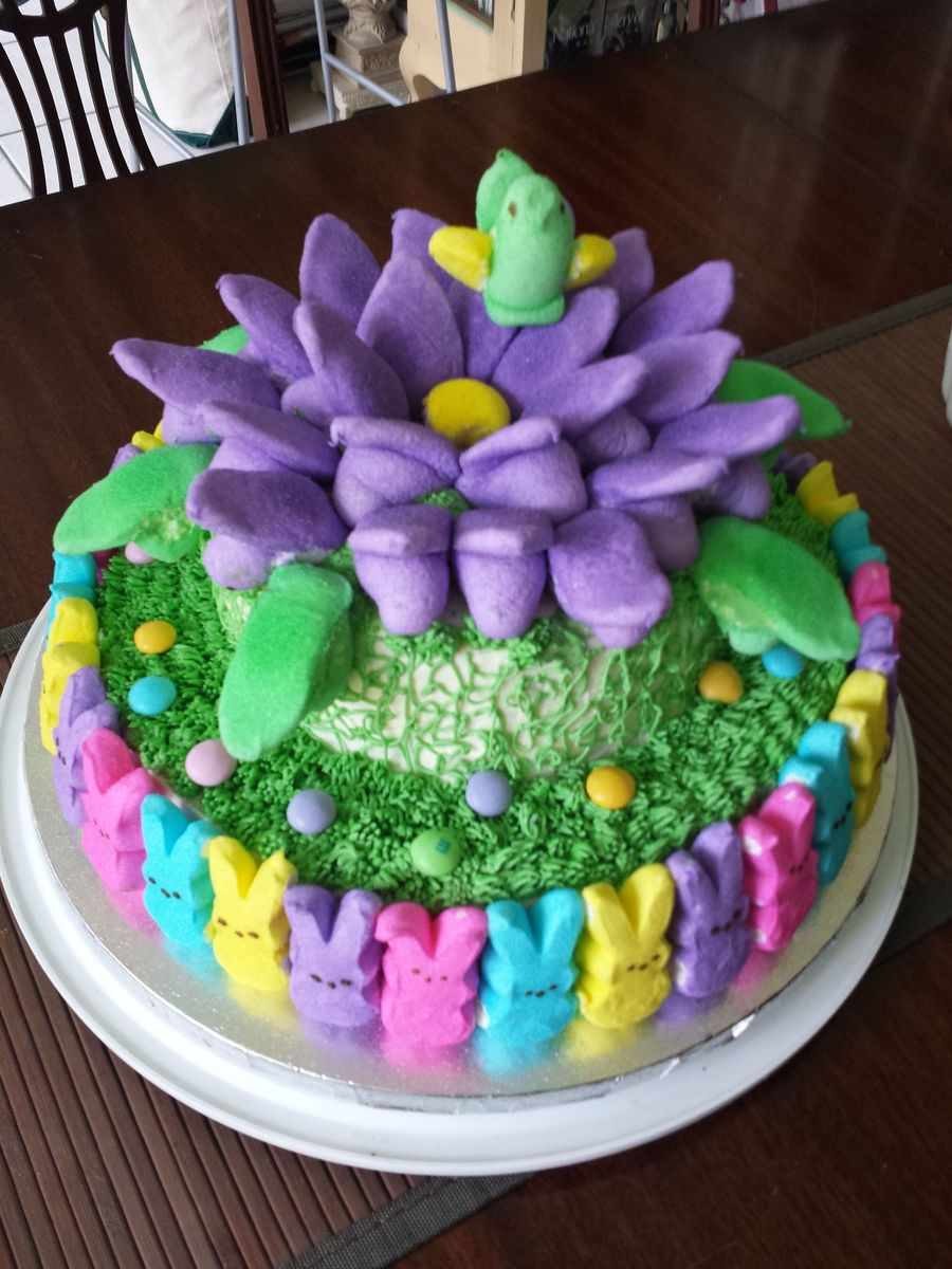 Easter Cake Decorating Ideas With Peeps