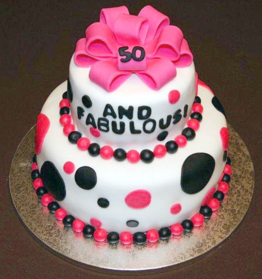 50 And Fabulous Cake Cakecentral