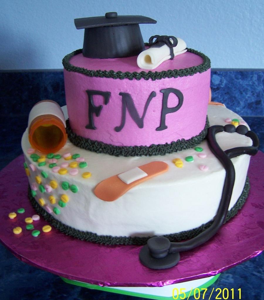 Family Nurse Practitioner Cakes