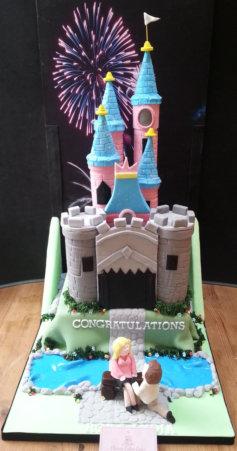 Euro Disney Castle By Claires Cakes Es on Cake Central