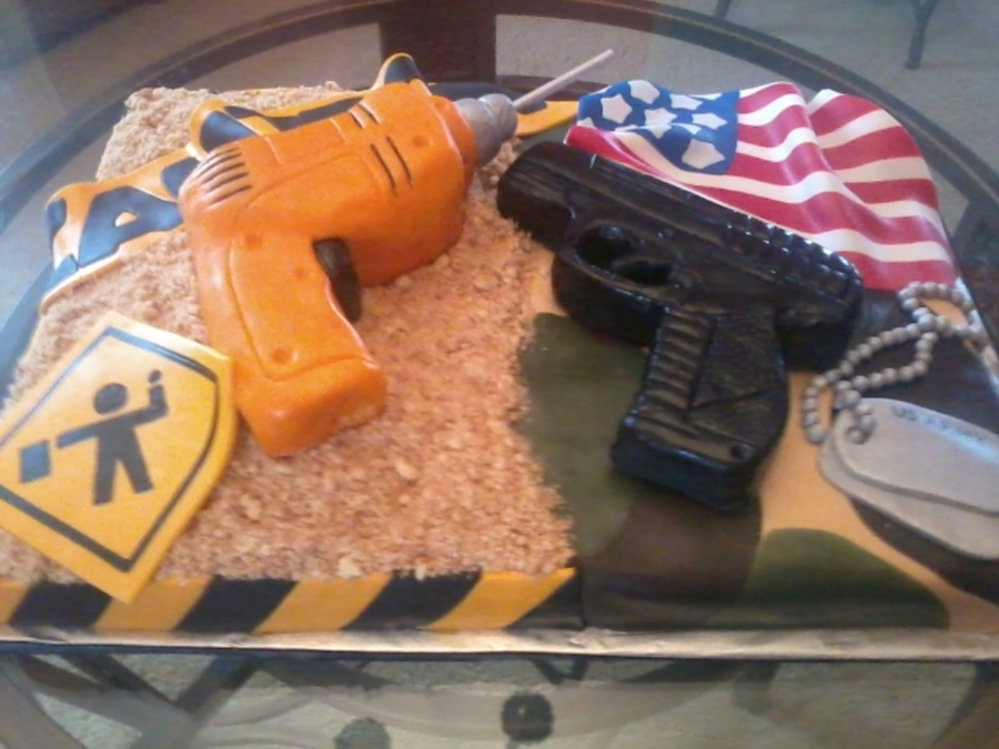 Army/construction on Cake Central