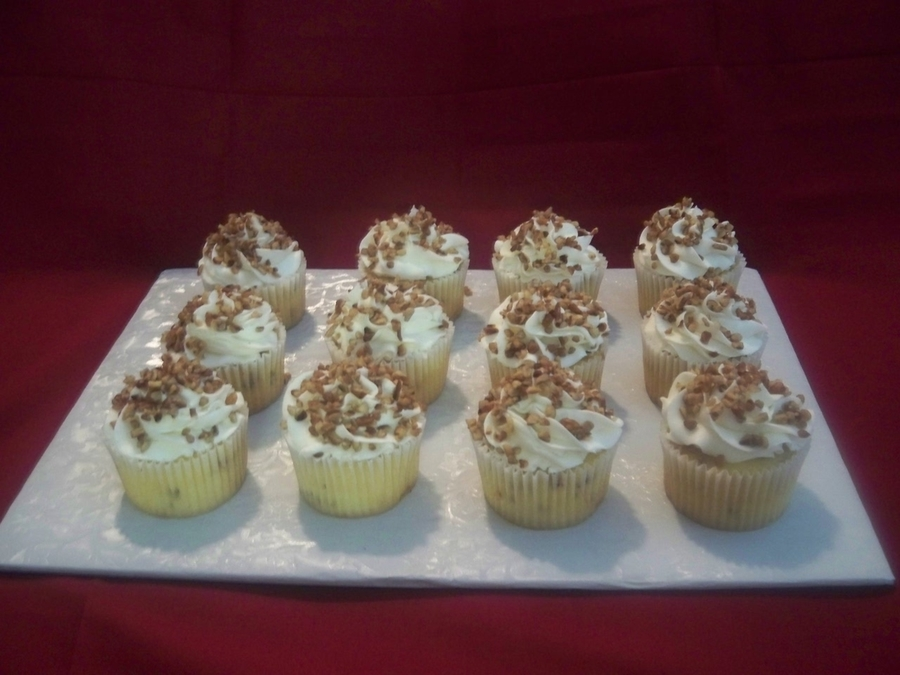 Buttered Pecan Cupcakes on Cake Central