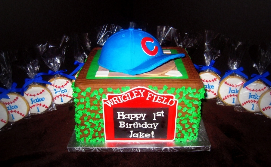 Chicago Cubs Wrigley Field Cake on Cake Central