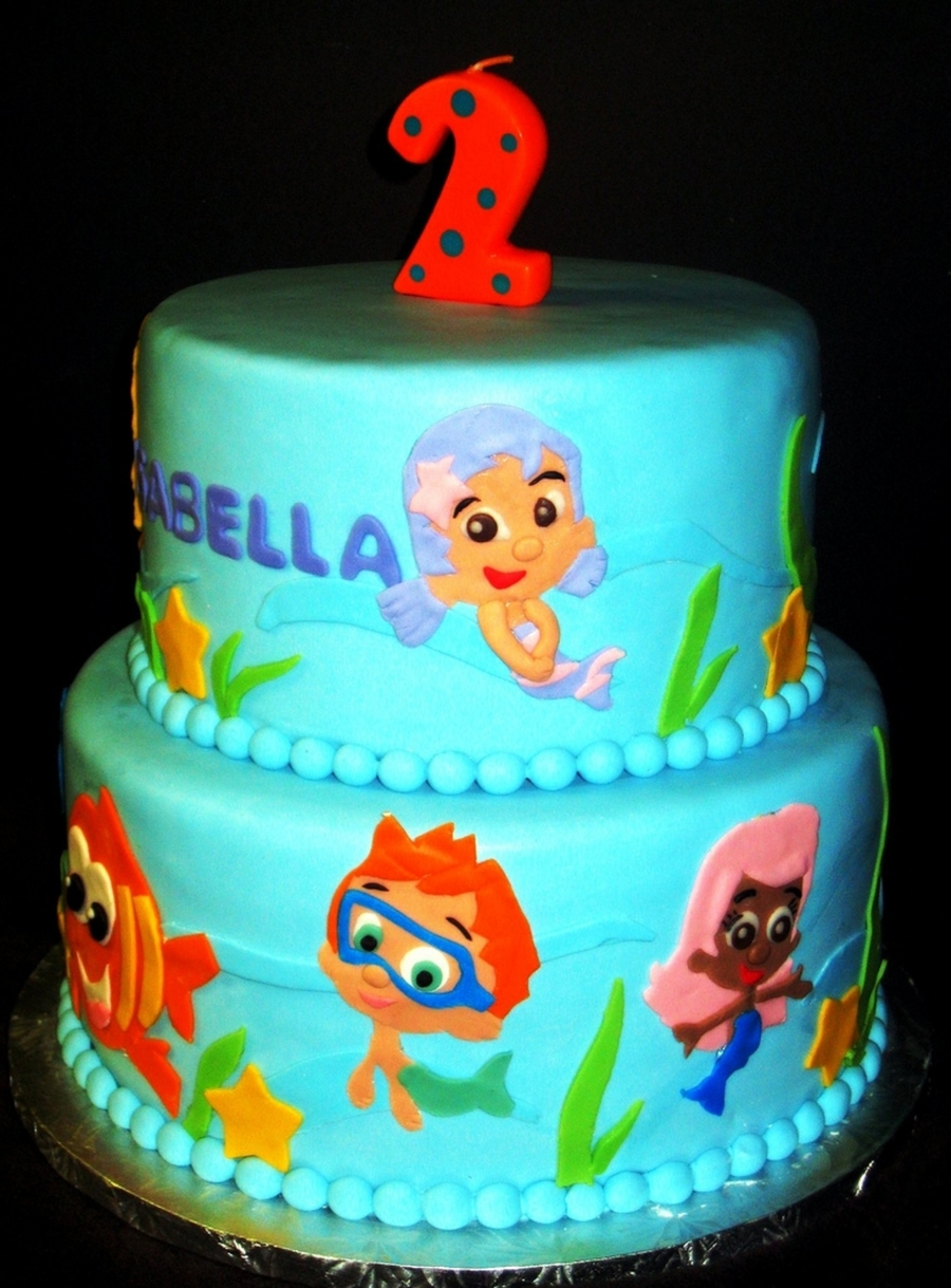 Bubble Guppies Cake Cakecentral Com