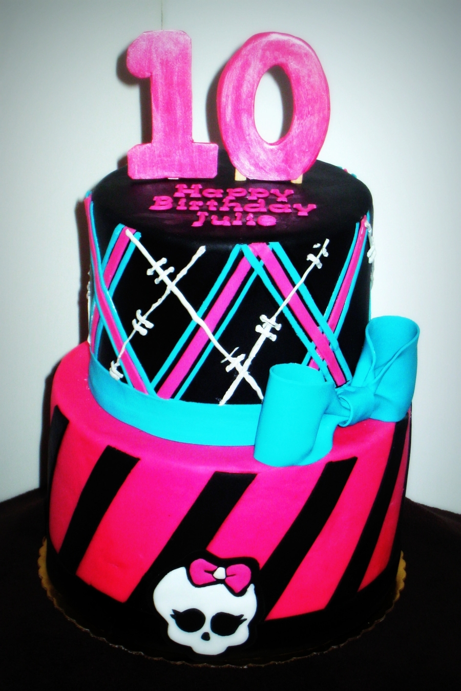 Monster High Cake Amp Cupcakes Cakecentral Com