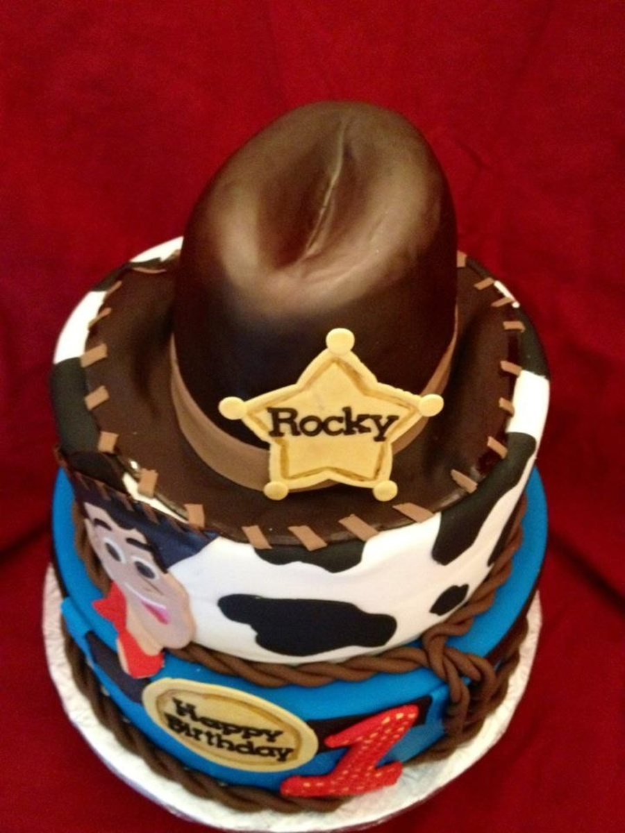 Woody Toy Story Birthday Cake Cakecentral Com