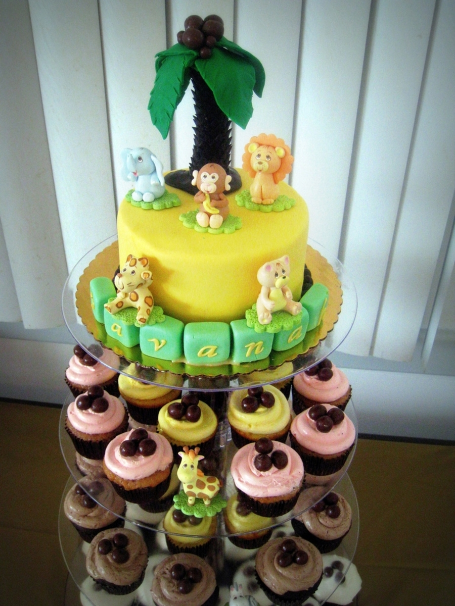 Safari Baby Shower on Cake Central