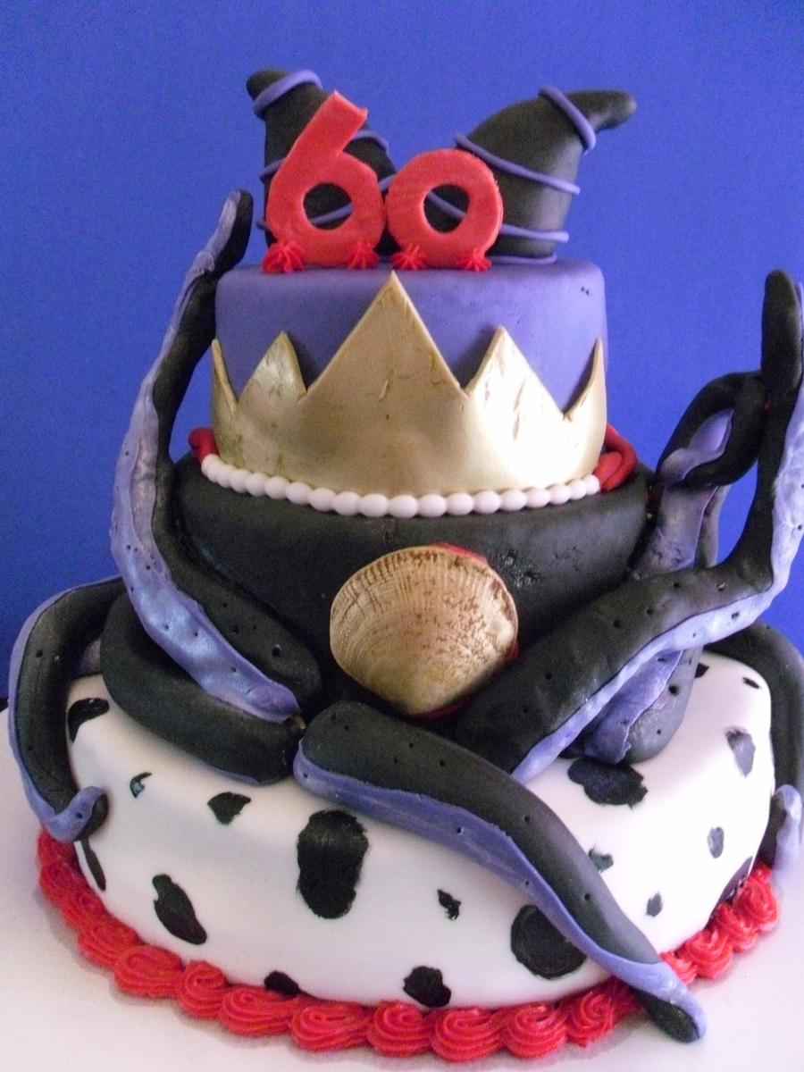 Disney Villain Cake Cakecentral Com