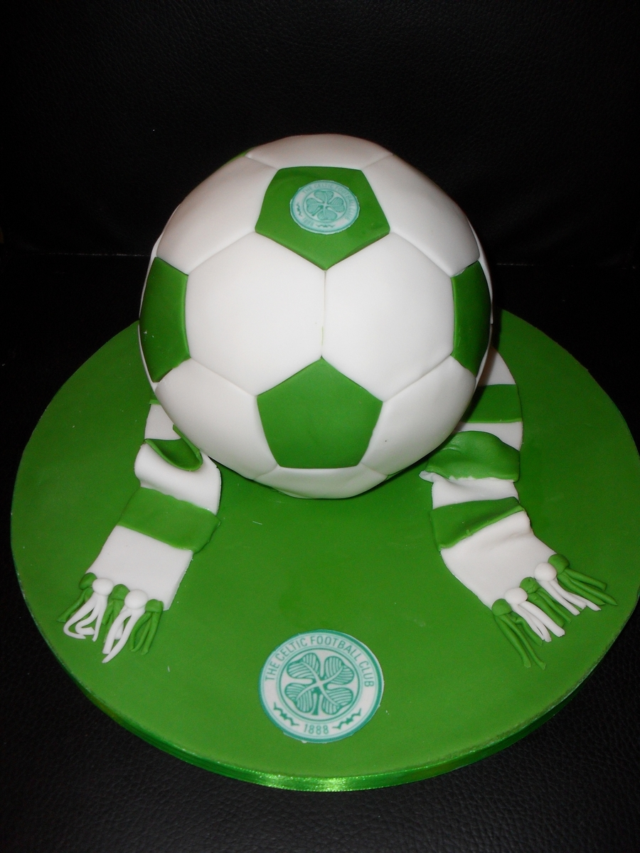 3D Soccer Ball / Football on Cake Central