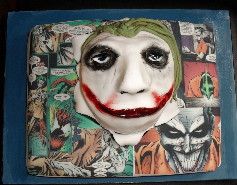 The Joker Cake on Cake Central