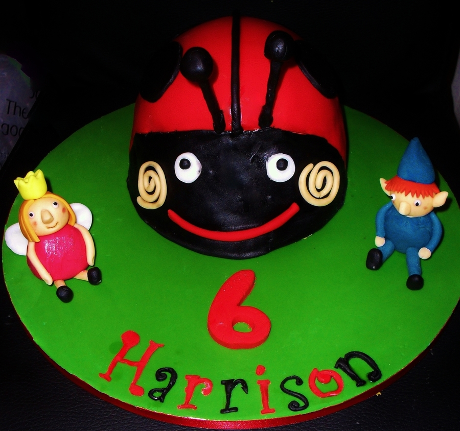 Gaston The Ladybird Cake Cakecentral Com