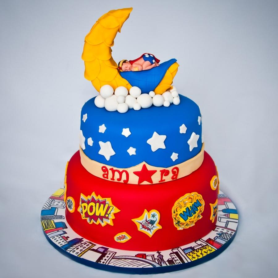 Superhero Cake – Ann's Designer Cakes  |Superhero Cakes
