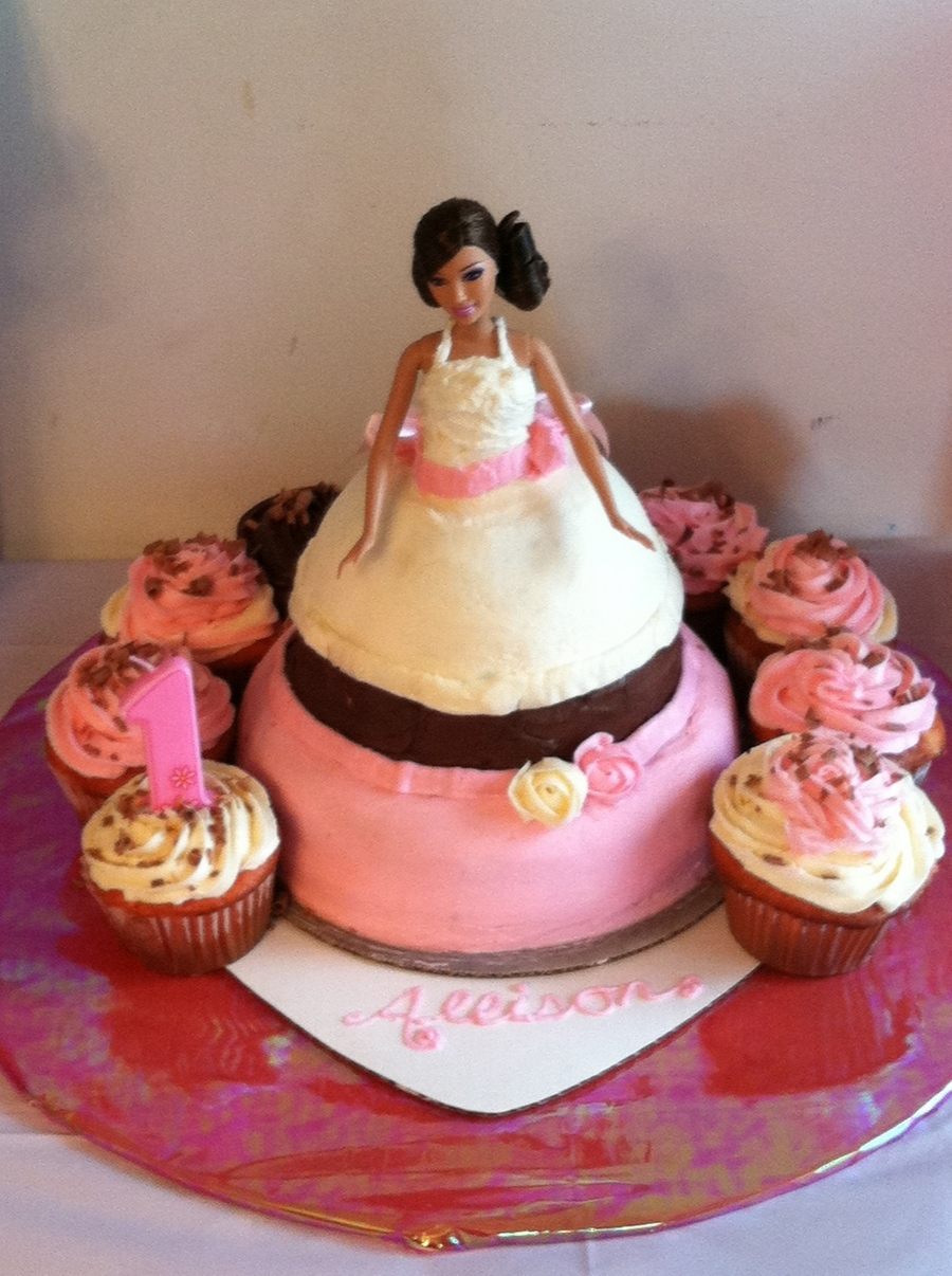 Barbie Doll Cake on Cake Central