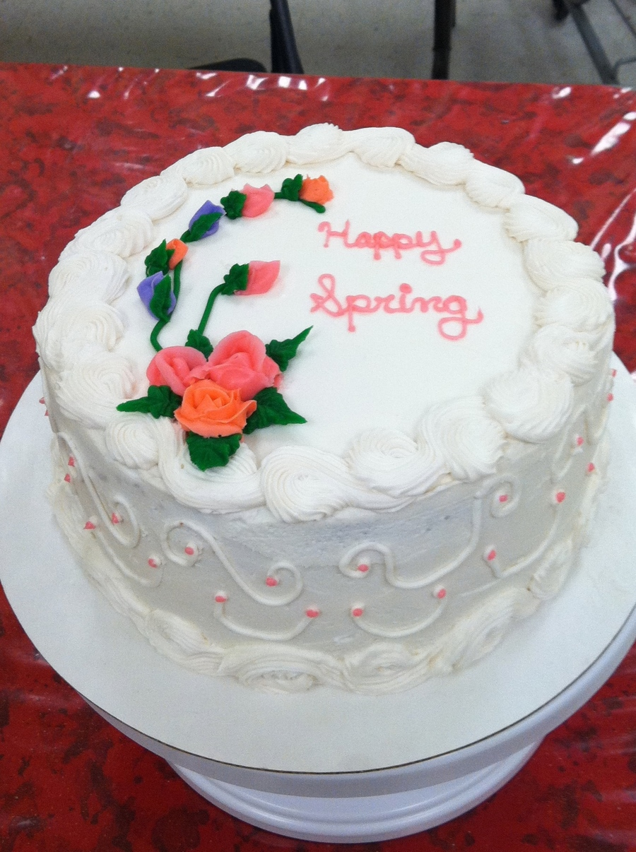 Happy Spring!  on Cake Central
