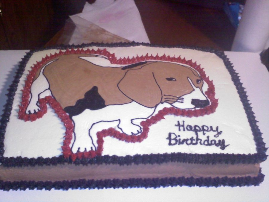 Beagle on Cake Central