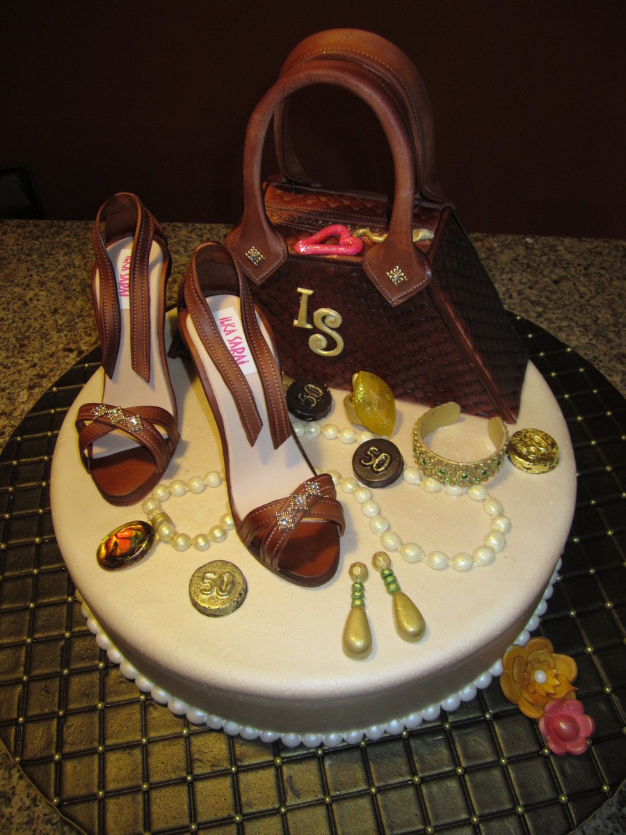 Diva S 50th Birthday Cake Cakecentral Com