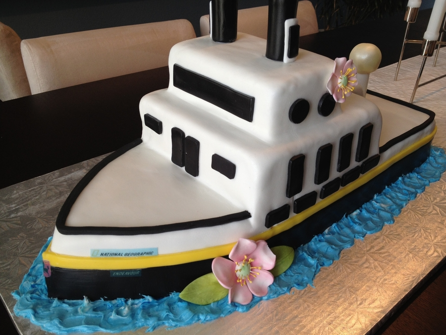 Galapagos Cruise on Cake Central