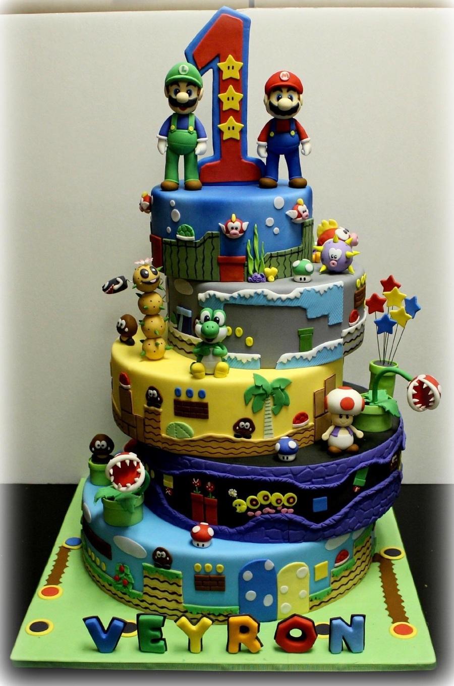 Mario Kart Birthday Cake Ideas