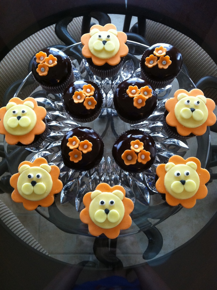 Lion Cupcakes on Cake Central