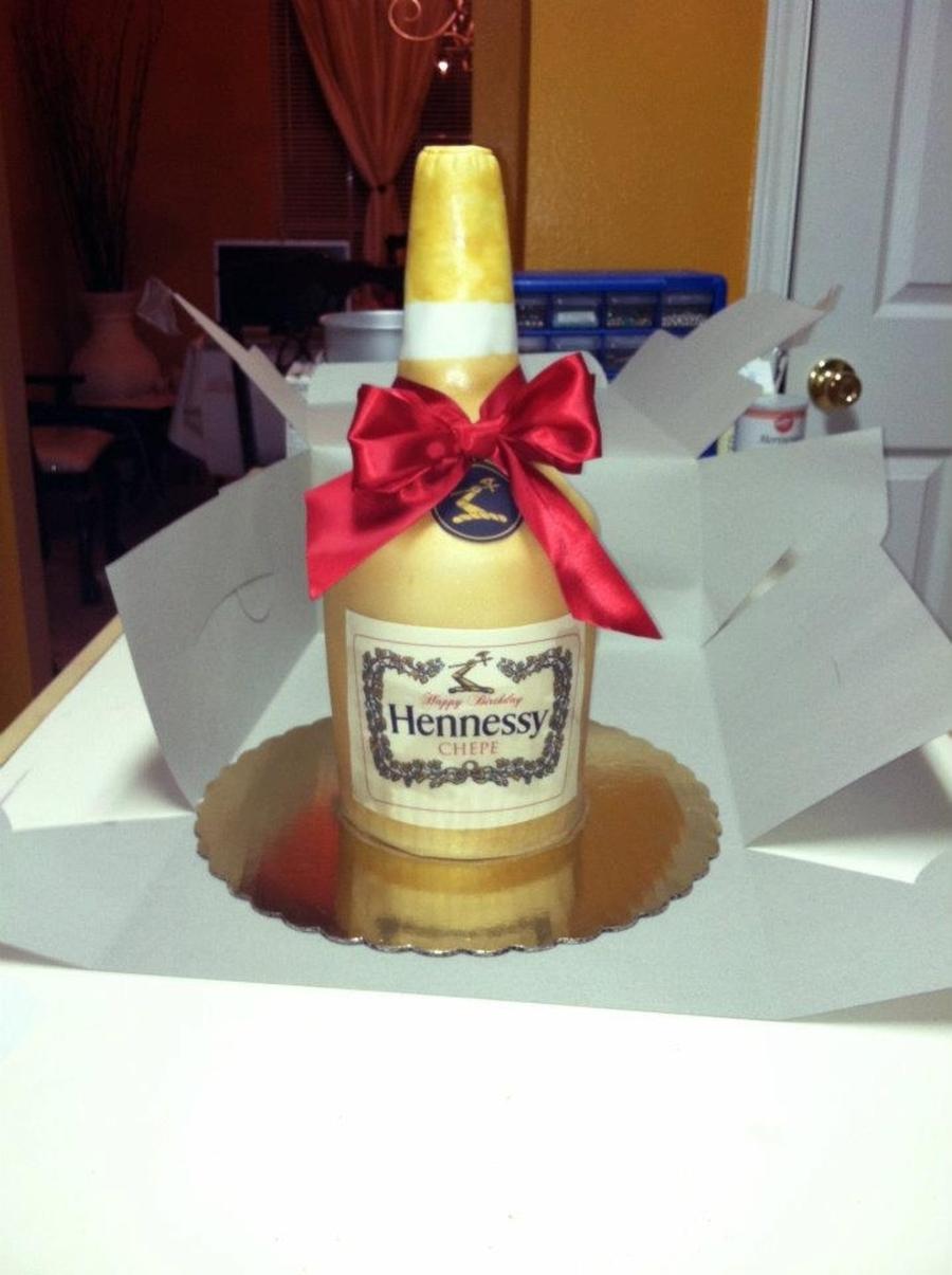 Hennessy Floating Cake Recipe