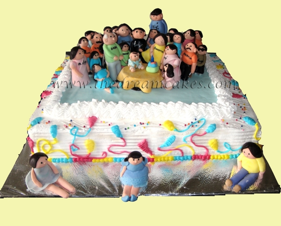 Family Reunion on Cake Central