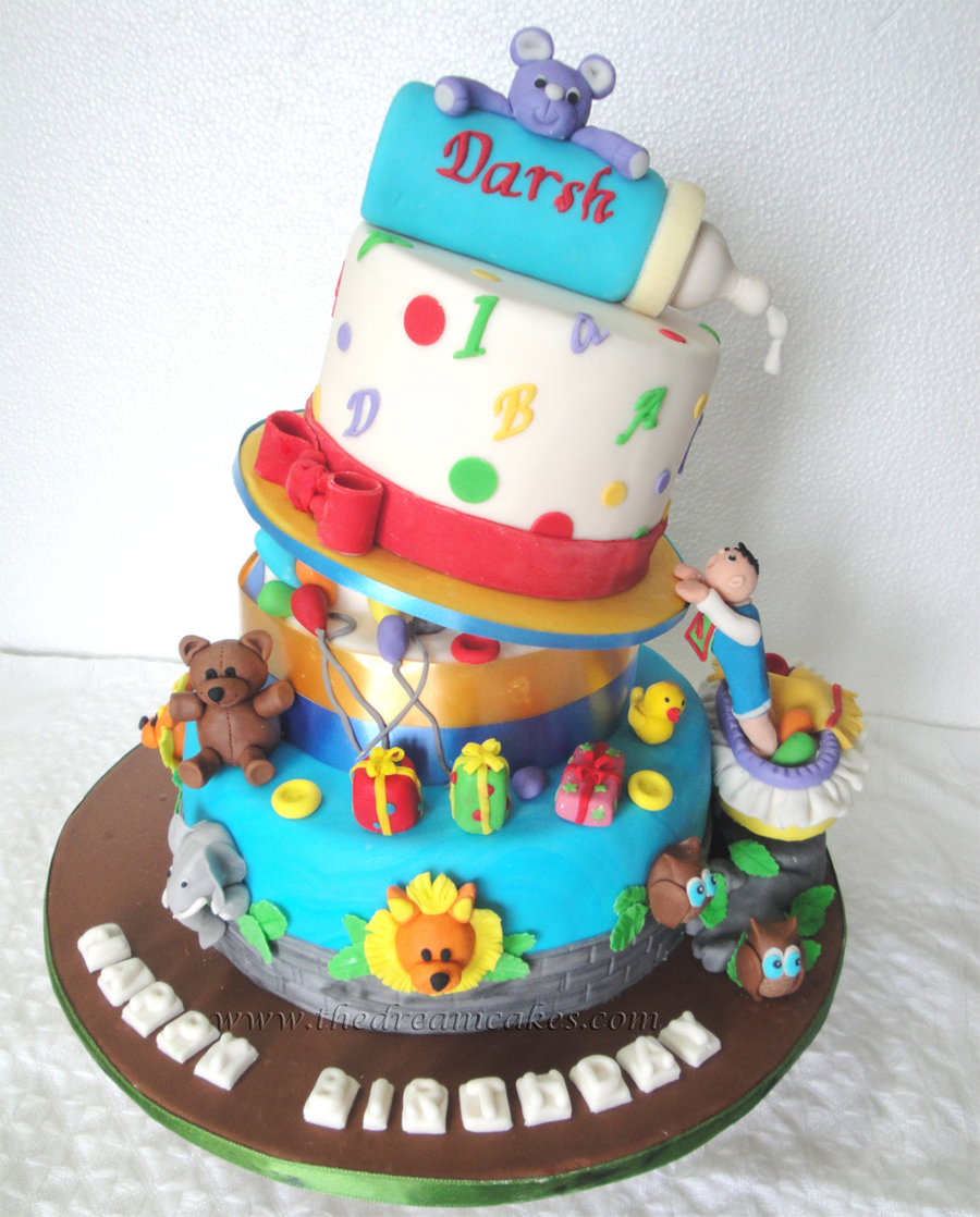 Mischief Managed Babys First Birthday Cake CakeCentralcom