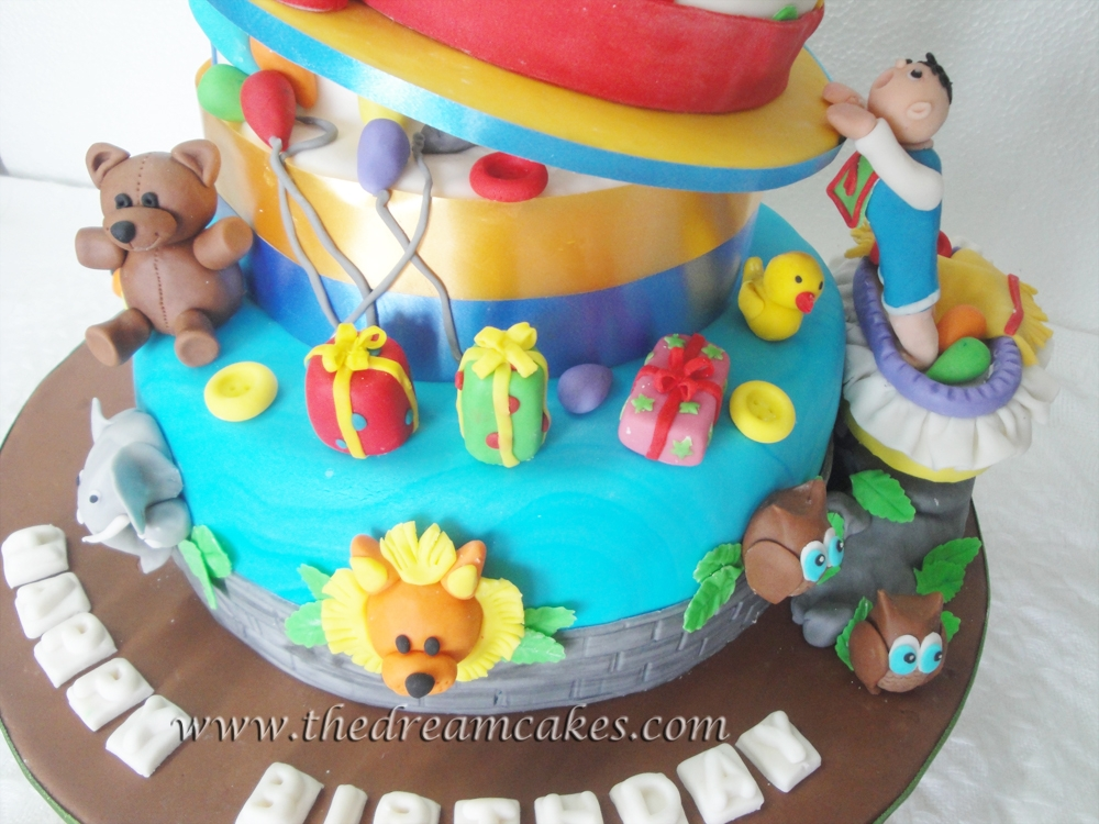 Birthday Cake Images Baby ~ Mischief managed! babys first birthday cake cakecentral.com