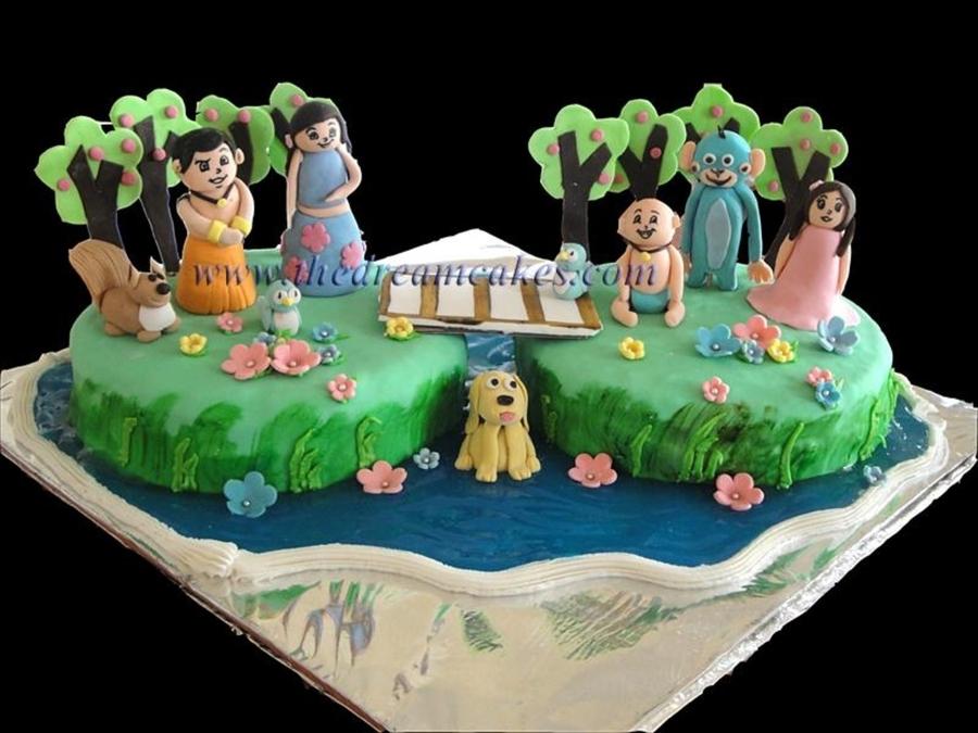 Chota Bheem And Friends - CakeCentral.com