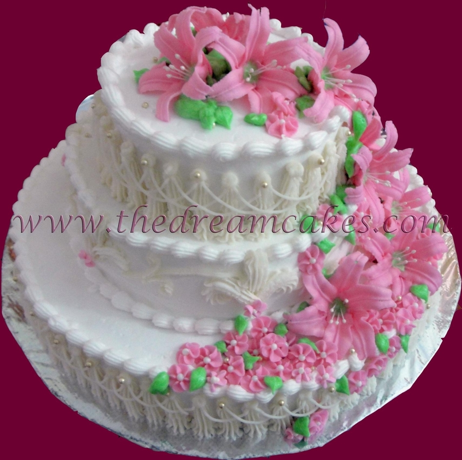 Lily Elegance on Cake Central