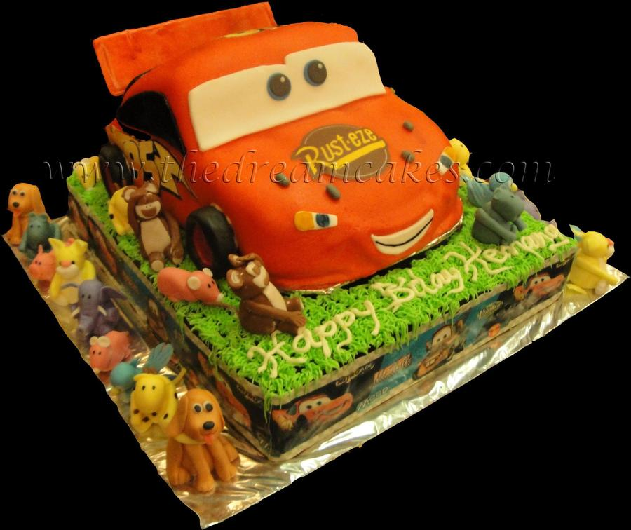 Mcqueen Car Cake on Cake Central