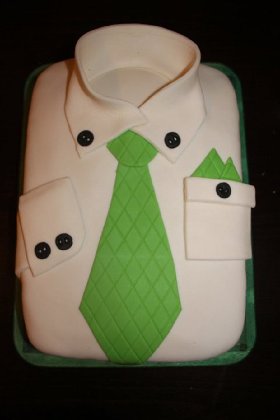 Shirt Tie Birthday Cake Cakecentral