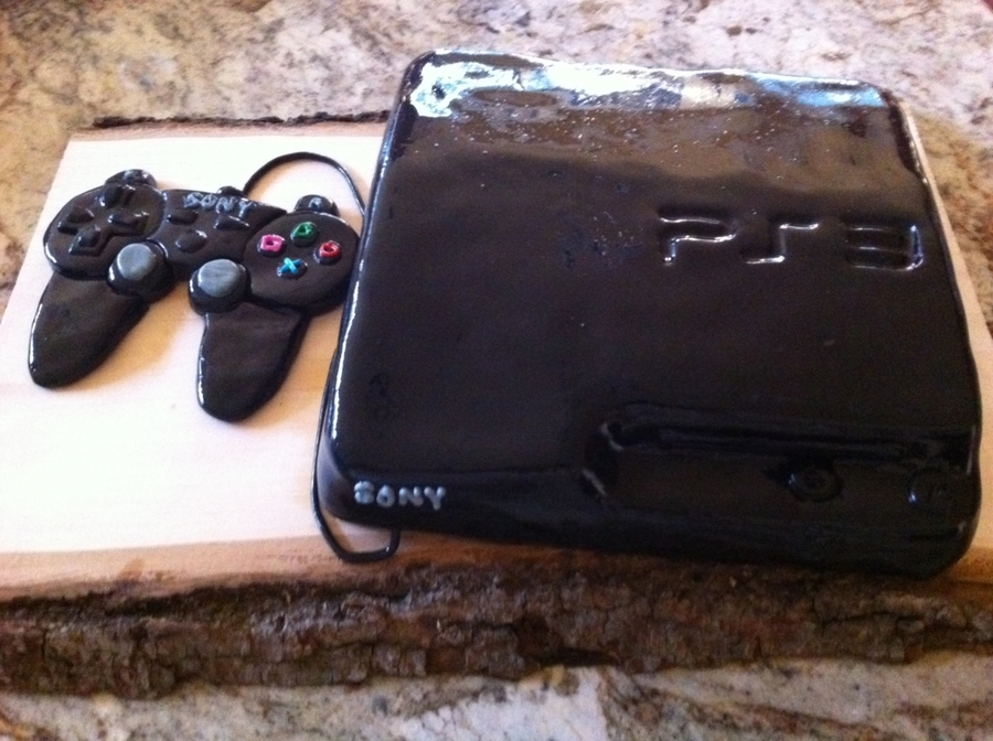 Playstation 3 Groom's Cake on Cake Central