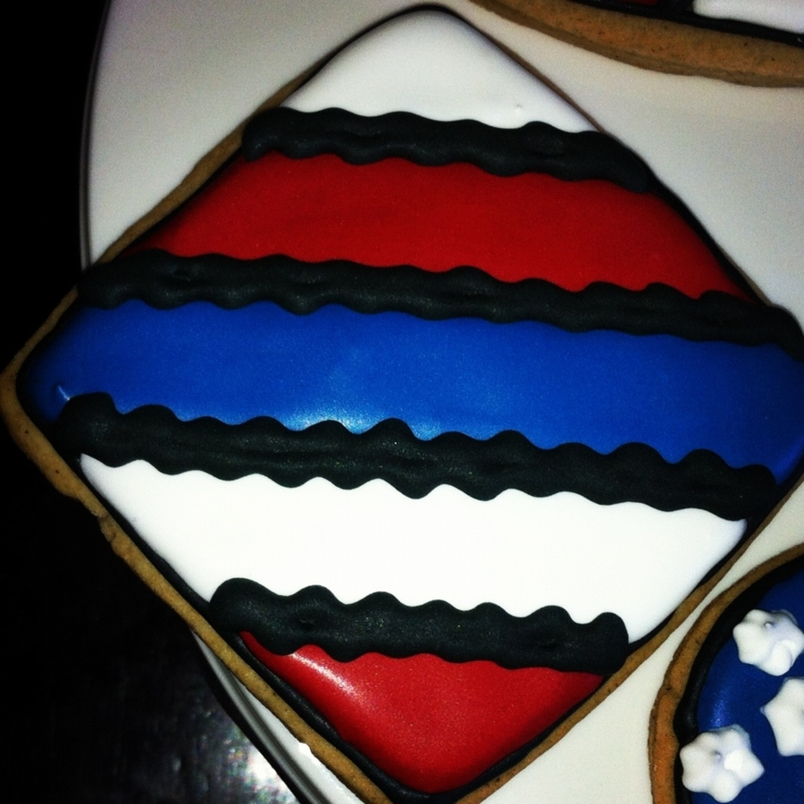 Patriotic Ric Rac Cookies on Cake Central