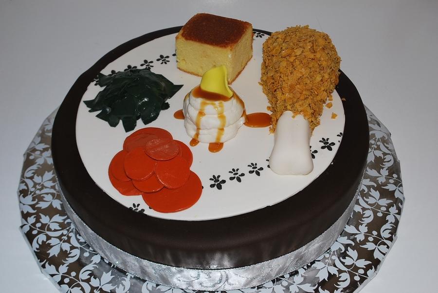 Soul Food Dinner Plate on Cake Central & Soul Food Dinner Plate - CakeCentral.com