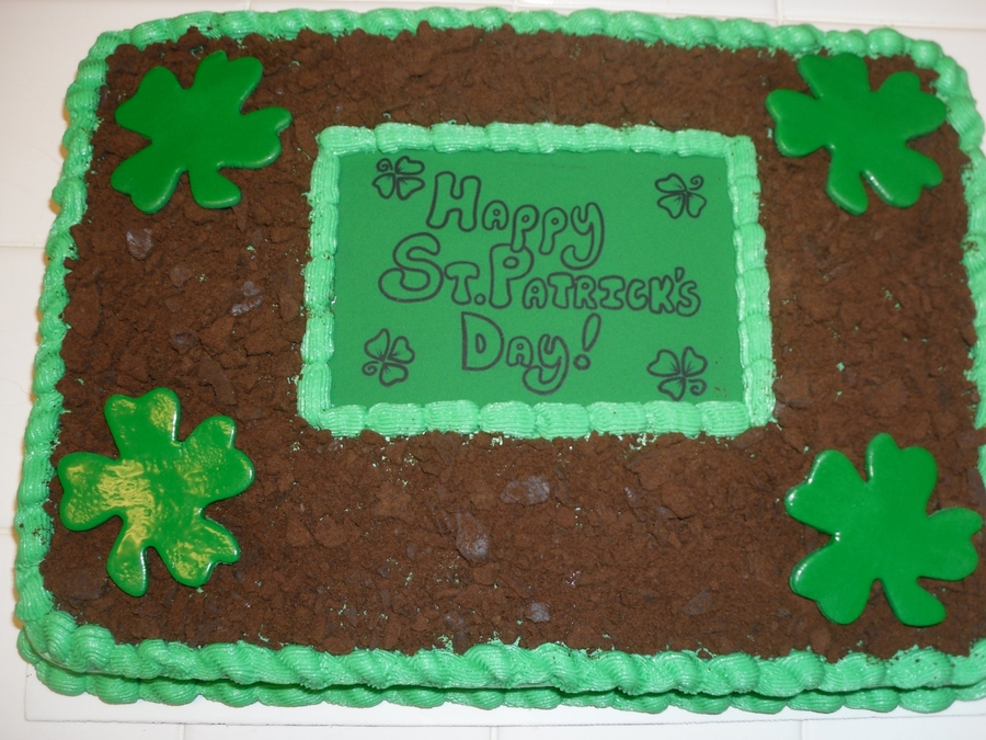 Go Green! on Cake Central